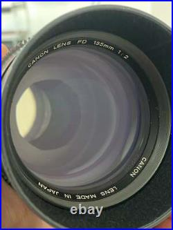 Canon FD 14mm L 135mm primes Rehoused PL Mount F2.8 Lens