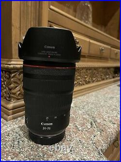Canon RF 24-70mm f/2.8L IS USM Ultra Wide Angle Zoom Lens Pristine
