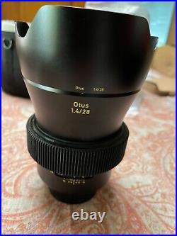 Carl ZEISS Otus 28mm F1.4 Lens ZE for Canon EF Mount
