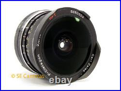 Carl Zeiss F Distagon Hft 16mm F2.8 Ultra Wide Rollei Qbm Lens Mint Condition