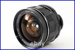 EXC 5Pentax SMC Super Multi Coated Takumar 20mm f/4.5 M42 Lens from Japan 1685