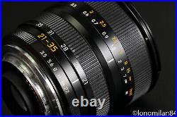 EXC++ Leica Vario-Elmar-R 21-35mm f3.5-4 13.5-4/21-35 R6 R7 R9 M240 DMR SL