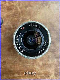 Excellent Contax 21mm f/2.8 Carl Zeiss Biogon T Lens With Finder For Contax G