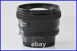 Excellent Nikon AF Nikkor 20mm f2.8D IF Full Size Ultra Wide Angle Japan N373