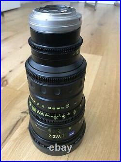FACTORY REFURBISHED Zeiss LWZ. 2 15.5-45mm T2.6 EF/PL s35 komodo bmpcc6k aps-c