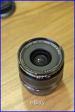 FUJI Fujifilm Fujinon XF 14mm 2.8 R Wide Angle Lens Exc+ Condition