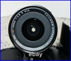 FUJIFILM Fuji Fujinon XF 14mm F/2.8 R Aspherical with Hood + UV Filter