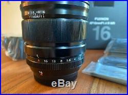 FUJIFILM XF 16mm f/1.4 R WR Lens
