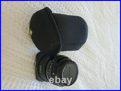 FUJIFILM XF 16mm f/1.4 R WR Lens withFuji lens hood and lens protector/case