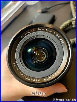FUJIFILM XF 16mm f/1.4 R WR Lens xf16 f1.4