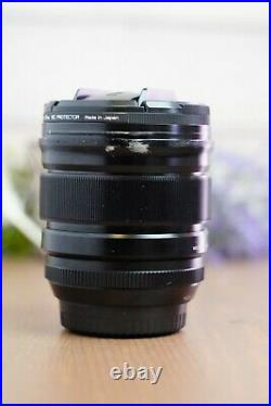 FUJIFILM XF Nano-GI 16mm f/1.4 R WR Lens with Hoya UV Filter and Both Caps