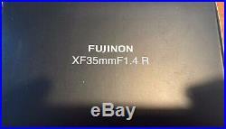 Fuji Fujifilm Fujinon XF 35mm f/1.4 R Lens (Boxed)