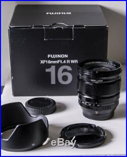 Fujifilm Fuji 16mm F1.4 XF R WR Lens
