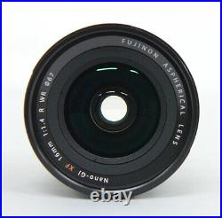# Fujifilm Fuji XF 16mm f/1.4 R WR Lens S/N 00557