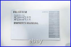 Fujifilm XF 14mm f/2.8 R Lens, Free Shipping