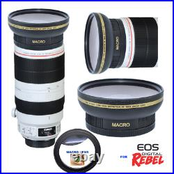 HD ULTRA WIDE ANGLE MACRO LENS FOR Canon EF 100-400mm f/4.5-5.6L IS II USM Lens