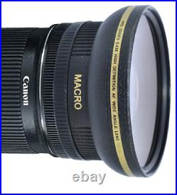 HD ULTRA WIDE FISHEYE MACRO LENS FOR Canon EF-S 10-18mm f/4.5-5.6 IS STM Lens