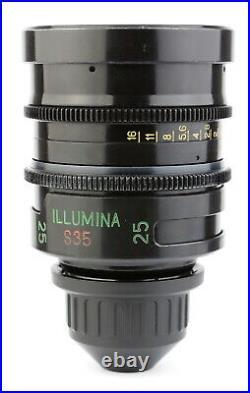 @ ILLUMINA / LOMO Super Speed 25 25mm T1.3 with ARRI PL Mount from LUMA TECH @