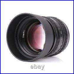 Kamlan 50mm F1.1 APS-C Manual Focus Lens for M4/3 Mirrorless Cameras