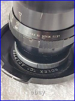 Kinoptik Paris Tegea 5.7mm f1.8 Lens