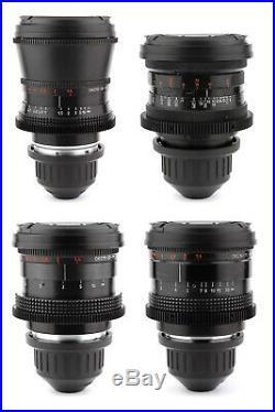 @ LOMO 4x Super Speed 28 35 50 75 Lens Set with ARRI PL Mount EKRAN / CKBK Zeiss @