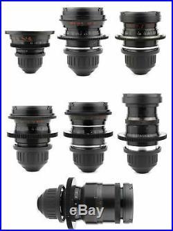 LOMO 7x STANDARD SPEED 18 28 35 50 75 100 150 Lens Set ARRI PL Mount Zeiss Cooke