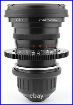 @ LOMO Super Speed 22 22mm f/1.4 T1.6 LENS CASING with ARRI PL Mount OKC5-22-1 @