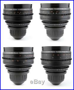 @ LOMO Super Speed 28 35 50 75 Lens Set with ARRI PL Mount Cooke Zeiss NEW @
