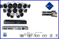 LOREX LNK72324TC16BP 4K Ultra HD IP NVR system with 16 Audio 2K 4MP IP cameras