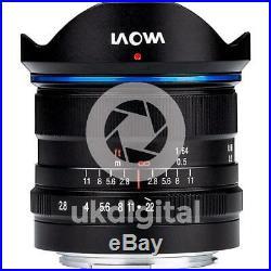 Laowa 9mm f/2.8 Zero-D Lens MFT