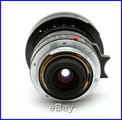 Leica Leitz 21mm f2.8 Elmarit-M Rangefinder Lens With Hood #31611