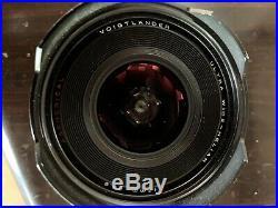 Leica M Mount Voigtlander Ultra Wide Heliar 12mm f/5.6 Lens Version 2