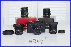 Leica R 19mm F2.8 Elmarit 3-Cam Lens Version I (USA ONLY)