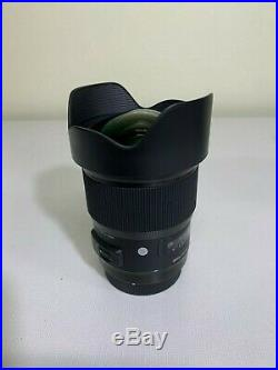 Lightly Used Sigma 20mm f/1.4 DG HSM Art Lens for Canon EF Free Shipping