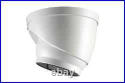 Lorex C861CH 4K Ultra HD Analog Motorized Dome Camera with CNV, 4x Optical Zoom