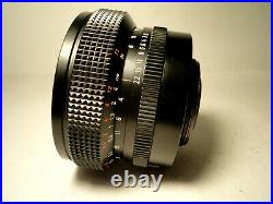 M42 Carl Zeiss Jena Flektogon red MC 2,8/20 MINT Condition lens f2.8 20mm