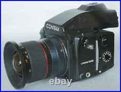 MINT! Ultra wideangle Samyang 24mm/3,5 lens for Contax 645 Fuji GFX 35 45 55