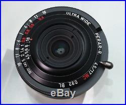 MS-Optical Perar-R 17mm f/4.5 Ultra Thin Retrofocus pancake Lens Leica M Exc+++