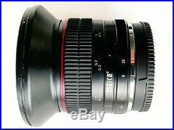 Meike 12mm f2,8 Fuji Fujifilm X-Mount