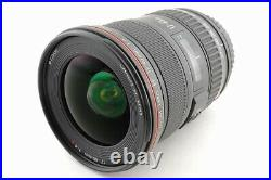 Mint Canon EF 17-40mm F/4 L USM Lens From Japan #5673