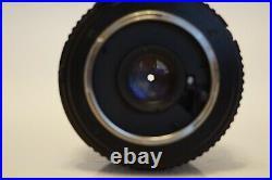 N. Mint Super Rare Minolta MD W. Rokkor-X 20mm F2.8 Ultra Wide Lens Sharp With Hood