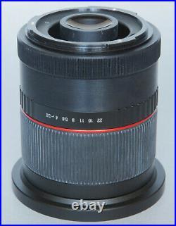 NEAR MINT! Ultra wideangle Samyang 24mm/3,5 to Mamiya 645 Phase One GFX 28 35 45