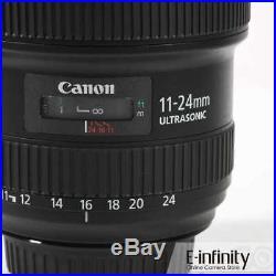 NEW Canon EF 11-24mm f/4L USM Lens