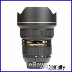 NEW Nikon AF-S Nikkor 14-24mm f/2.8G ED Lens