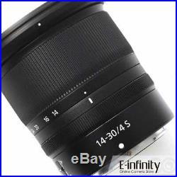 NEW Nikon NIKKOR Z 14-30mm f/4 S Lens