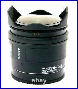 NEW SONY 16mm F2.8 Fisheye Lens for A Mount (SAL16F28)