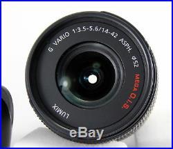 New Panasonic Lumix G Vario 14-42mm f/3.5-5.6 Asph Lens H-FS01404 Micro 4/3