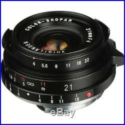 New Voigtlander Color-Skopar 21mm f4 P Lens VM Leica M Mount Bessa R4A R4M