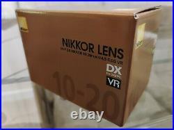 Nikkor 10-20 AF-P DX 10-20mm f/4.5-5.6G VR Lens MINT