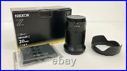 Nikkor Z 20mm f/1.8 S Lens used twice